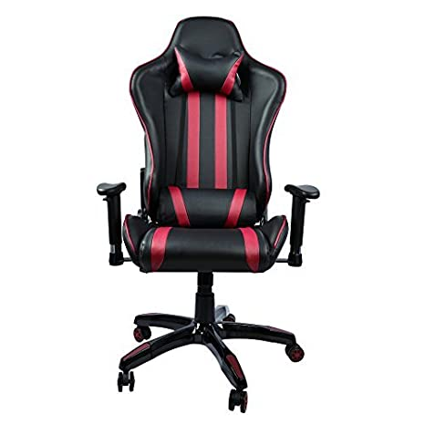 super populaire e6f63 bf908 Chaise Gaming inclinable avec accoudoirs reglable] Racing ...