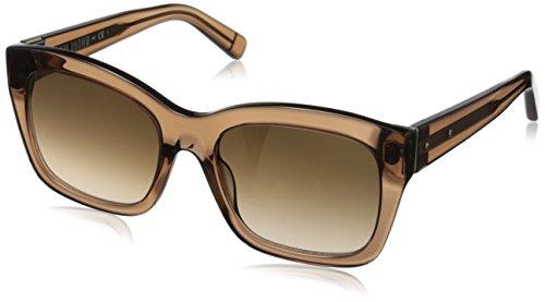 Bobbi Brown Women's The Ava Square Sunglasses, Transparent Brown/Brown SF SP, 54 - Francisco In Sunglasses San
