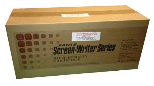 Black Xante Toner (Xante 200-100041 OEM Toner - Accel-a-Writer 3 3G 3N 4G 4N Platemaker 4 Screen Writer 4 Toner (14000 Yield) (200-100041))