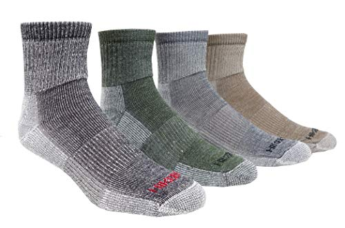 (Super-Wool Hiker GX Low-cut Hiking Socks (3 Pairs) (Medium (5-9 Shoe), Black))