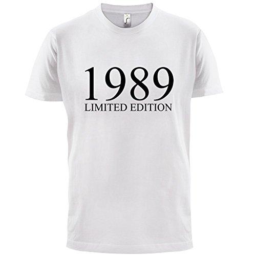 1989 Limierte Auflage / Limited Edition - 28. Geburtstag - Herren T-Shirt - Weiß - XXXL
