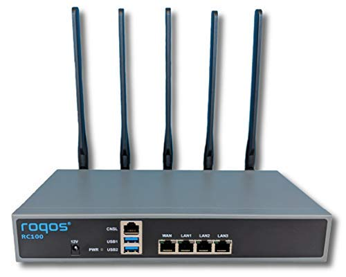 Roqos Core RC100 - Next Generation Gigabit UTM Firewall, Int