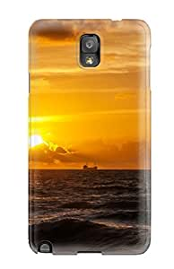 Hot 4517628K32712848 For Sunset Protective Case Cover Skin/galaxy Note 3 Case Cover