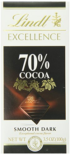 Lindt Excellence Bar, 70% Cocoa, 3.5 Ounce
