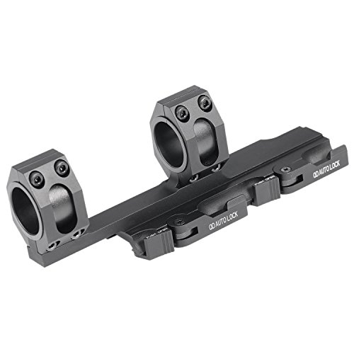 Vokul Hunting Tactical Scope Rock-solid 25.4mm-30mm Weaver Picatinny Rings QR Extended Cantilever...