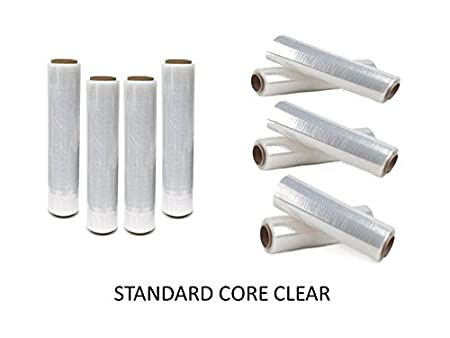 CLEAR /& BLACK SHRINK WRAP FILM ROLLS PALLET STRETCH SHRINK CLING FILM WRAPS *** NEXT DAY UK DELIVERY *** To View Our Exciting  Packaging Catalogue **DEAL** 1 x STRONG HIGH QUALITY SHRINK WRAPS **CHOOSE YOUR SIZE /& GRADE INSIDE THIS LISTING** Search