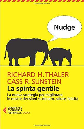 Copertina Libro Nudge. La spinta gentile