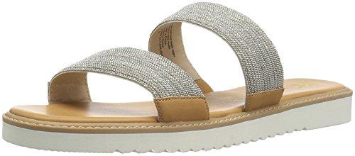 Flat BC Sandal Footwear Chain Prize Grand Women's Silver A8wIqr8