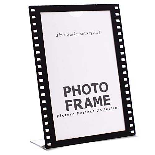 Photo Booth Frames 4x6 Clear Acrylic Picture Frame Film Style Hollywood Frame Sign Holder Vertical (12)
