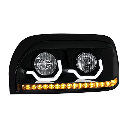 One-Blackout-Freightliner-Century-Projection-Headlight-Driver-Side