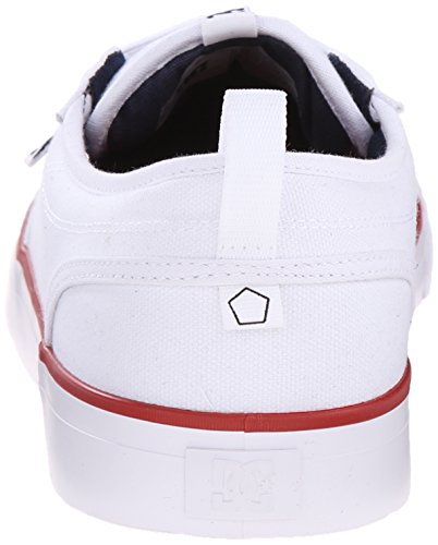 White Shoe Men's Red Evan Skate DC Navy Smith TX zwYaxcXdq