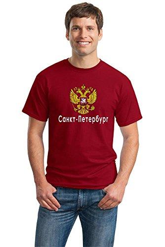 SAINT PETERSBURG, RUSSIA Unisex T-shirt. Russian, Rossiya Pride Tee