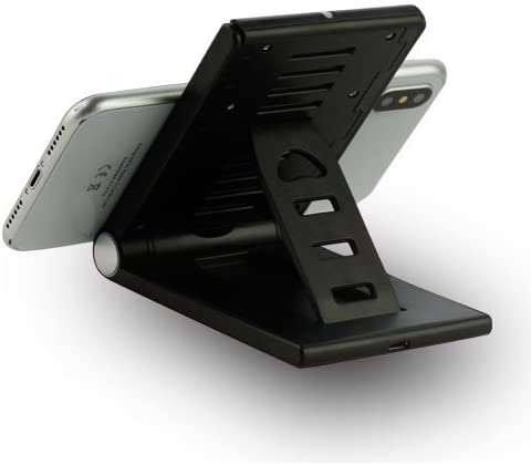 XR Stand Holder Xs Foldable Black Wireless Charger Compatible for Razer Phone 2 for BLU Vivo XI+ for Kyocera DuraForce Pro 2 Xs Max for iPhone 11 Pro Max Xs Plus 11