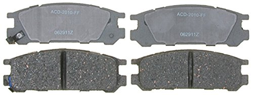 ACDelco 14D471C Advantage Ceramic Rear Disc Brake Pad Set