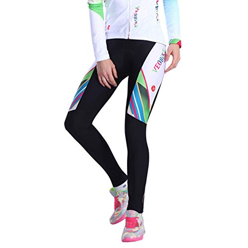 (¡¾ADisaer¡¿Sports StyleOutdoor Women'S Bicycle Jersey Pants Colorful XXL Mountain Bike Tights Padded Biking Outfit)