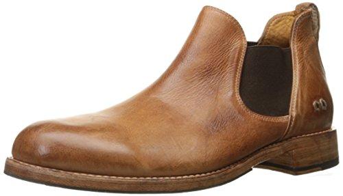 Bed|Stu Men's Royce Ankle Bootie Cognac Dip Dye 8 M US