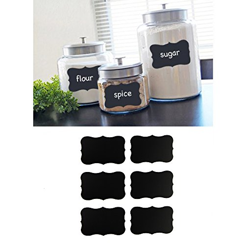 Houseables Chalkboard Blackboard Stickers Rectangle product image