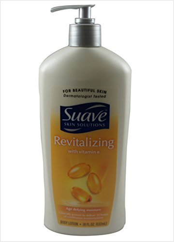 Suave Revitalizing with Vitamin E Body Lotion, 18 oz (Pack of 4)
