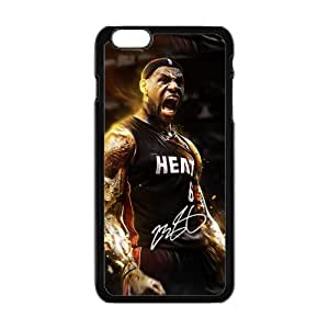 SANLSI LeBron James Cell Phone Case for Iphone 6 Plus