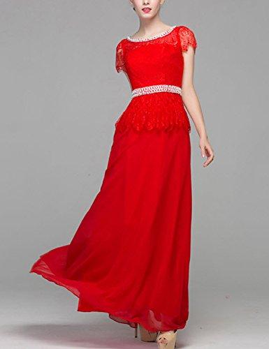 Lactraum LF4159 Brautjungfernkleid Ballkleid Abendkleid Abschlussball Kleider Hochzeitskleider Abiballkleid Spitze