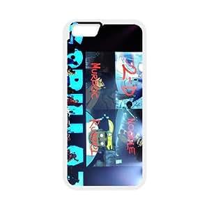 iPhone 6 Plus 5.5 Inch Phone Case Gorillaz Band ZDC2010140