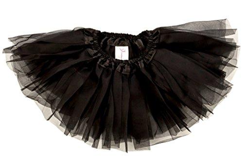 Dancina Tutu Ballerina Super Soft Dance Recital Cute Cosplay Dress Up Costume 0-5 months Black (Cosplay Outfits For Sale)
