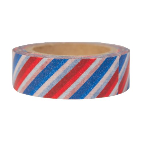 Washi Tape- Diagonal Air Mail Pattern (Washi Tape Mail)