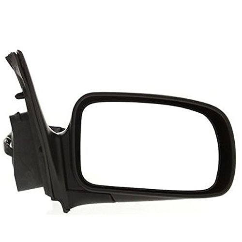 For 1999 2000 2001 2002 Nissan Quest GLE & Mercury Villager Power Heated Memory Manual Folding Smooth Black Rear View Mirror Right Passenger Side (99 00 01 02)