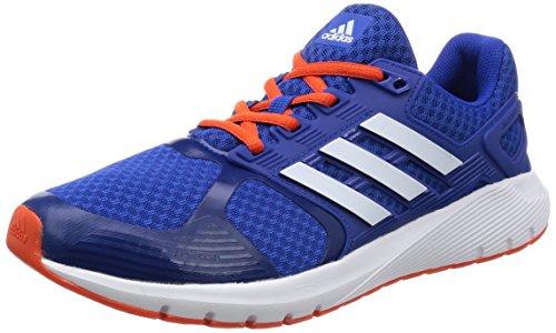 adidas Men's Duramo 8 M, BLUE/ORANGE, 10 M US