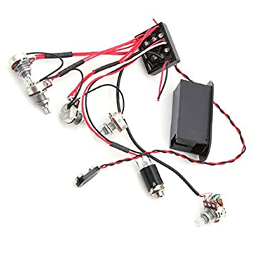 EQ 3 Band Active Equalizer Vorverstärker Schaltung, Tonabnehmer 1 ...