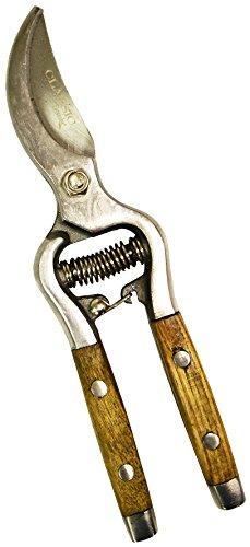 (Flexrake CLA115 Wood Handle Bypass Shear, 8-Inch)