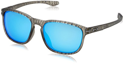 Oakley Men's Enduro OO9274-07 Non-Polarized Iridium Oval Sunglasses, Matte Grey Ink/Urban Jungle, 55 mm