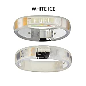 Nike + Fuelband White ICE Fuelband - Size: Small