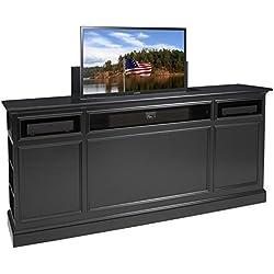 TVLiftCabinet Suite TV Cabinet, Black