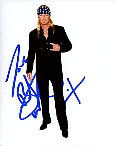 Bret Michaels Signed Autographed Photo At Amazon S