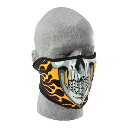 Zan Headgear Burning Skull Men