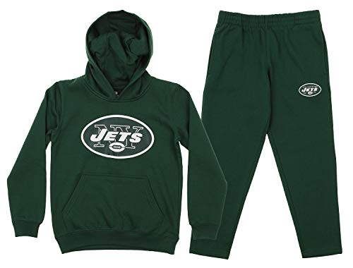 Jets New Colors York (Outerstuff NFL Youth Team Color and Fleece Hoodie Set, New York Jets Small 8)
