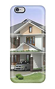 Quality Lori Dykes Case Cover With Modern Houses Nice Appearance Compatible With Iphone 6 Plus