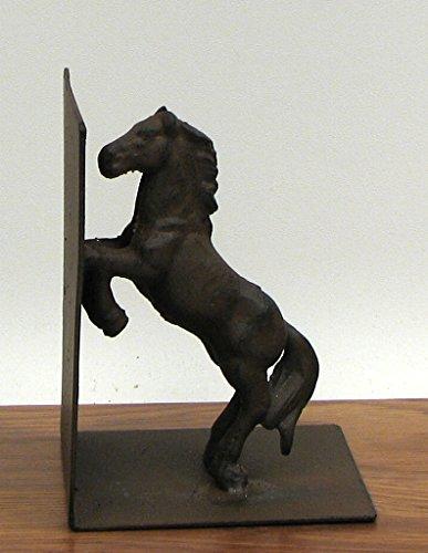 SlickBlue Cast Iron Horse Bookend