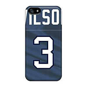 Bumper Hard Phone Cases For Iphone 5/5s With Unique Design High-definition Seattle Seahawks Pattern MarieFrancePitre
