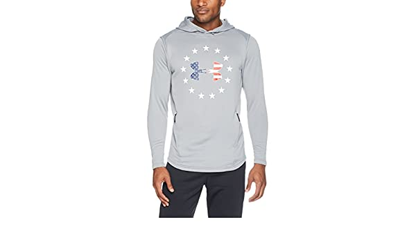 93694043 Under Armour Mens Under armour Men's Freedom tech Terry po Hoodie ...