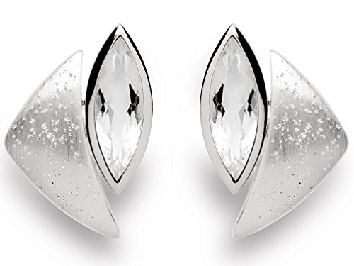 bastian inverun - pendentif argent avec cristal - 11278