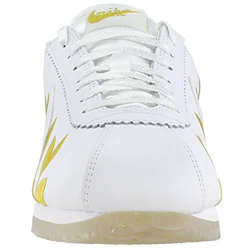 Metallizzato Da Ar5393 Bianco Classic Donna 8 100 Nike Eu 39 Ar5393 dorato Cortez 100 Donna xPqvPYBZ