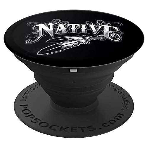 (Native American Indian for men women kids - PopSockets Grip and Stand for Phones and Tablets)