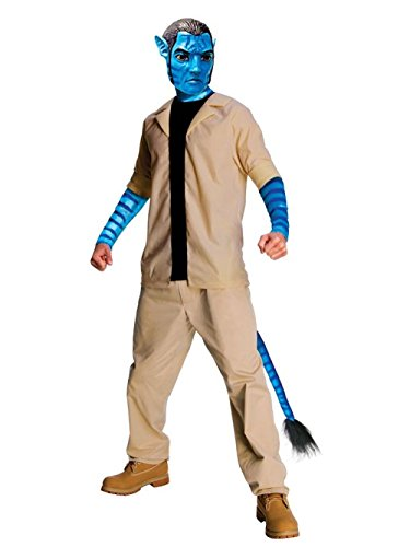 Avatar Movie Costumes Jake Sulley Costume Futuristic Costume Sizes: X-Large