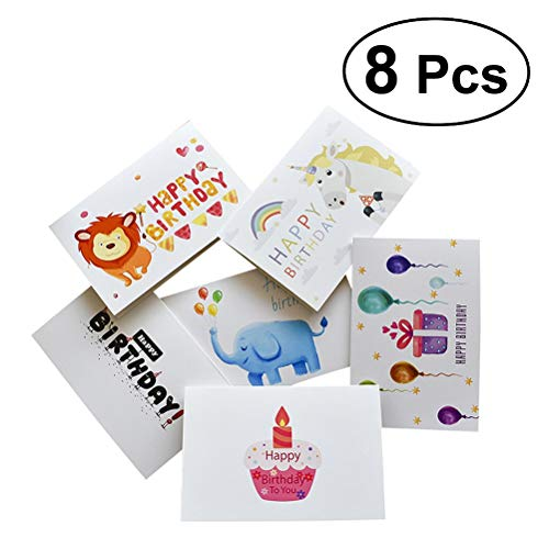 Cardstock Die Cut - 48pcs Greeting Cards Paper Decorative Lovely Creative Cute Thanksful Gift Card - Abstract Unit Scrapbook Origami Go Paper Number Paper Plant Chair