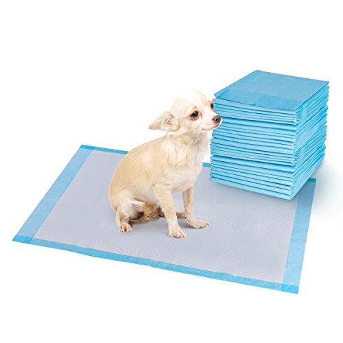 Giantex 100PCS 30'' X 36'' Puppy Pet Pads Dog Cat Wee Pee Piddle Pad Training Underpads (36 Training Puppy Pet)