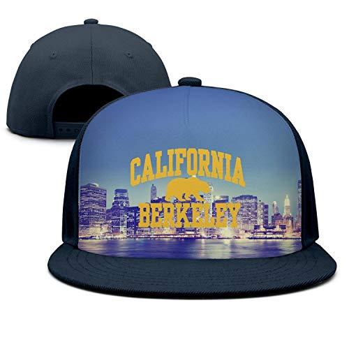IVTHJYHP California Berkeley Navy-Blue Unisex Womens Men Fashion Hip Hop Cotton Sports Snapback Cap Hat]()