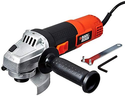 Black & Decker KR554RE 550-Watt 13mm Variable Speed Reversible Hammer Drill Machine + Black & Decker G720R 4-Inch/100mm 820-Watt Angle Grinder