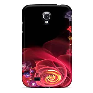 Brand New S4 Defender Case For Galaxy (abstract Blooms)